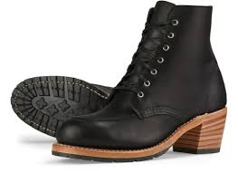 womens boots black s 3405 clara black leather boot wing heritage