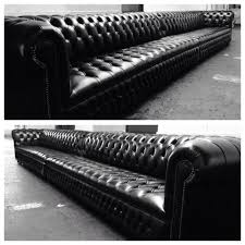 Bespoke Leather Sofas by Chesterfield Harlequin Patchwork Leather Sofa