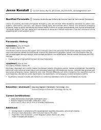 resume sle with career summary emt skills resume kardas klmphotography co