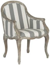 Grey And White Accent Chairs Accent Chairs Bergere Styled Armchair Safavieh Com