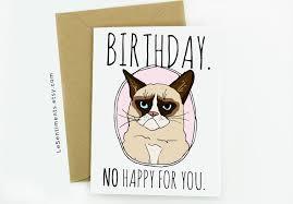 Grumpy Cat Photo 1 Best - grumpy cat birthday card printable card design ideas