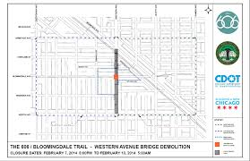 Bucktown Chicago Map by Bloomingdale Trail The 606 Chicago U0027s 32nd Ward Service Website
