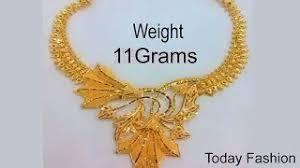 light weight gold necklace designs latest simple gold necklaces designs with weight and price clipzui com