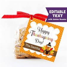 editable thanksgiving favor tag printable happy thanksgiving day