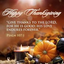i pray you all a blessed thanksgiving day with family and