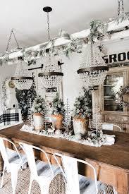 rustic glam farmhouse christmas dining room liz marie blog