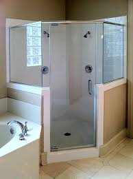 Angled Shower Doors Neo Angle Shower Enclosures Shower Doors Of Dallas