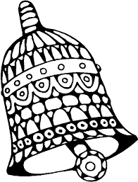 bells coloring pages