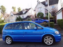 stunning arden blue 2005 vauxhall zafira gsi turbo low