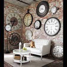 enchanting decorative wall clocks for living room and best 25