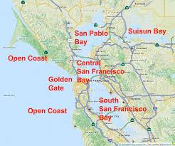 san francisco on map san francisco bay on map michigan map