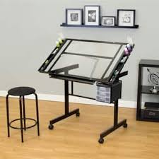 Drafting Table Glass Glass Drafting Tables For Less Overstock