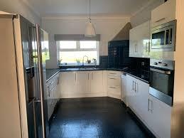 navy blue kitchen cabinets howdens luisa s kitchen renovation reveal robinson