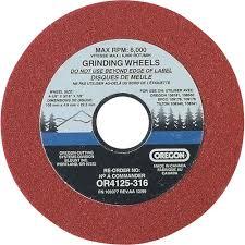 oregon chain sharpener replacement grinding wheel u2014 3 16in