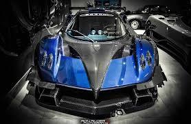 pagani zonda revolucion blue pagani zonda revolucion in japan automotive99 com