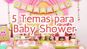 5 temas para decorar tu baby shower hd youtube