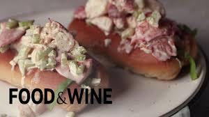lobster roll recipe maine lobster roll recipe recipe food u0026 wine youtube