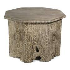 hand carved wood coffee tables houzz