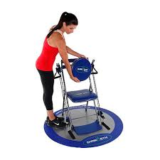 Gym Chair As Seen On Tv Chair Gym Exercise System With Twister Seat And Workout Dvds