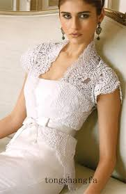 lace wedding dress with jacket in with this wedding dress change the jacket to three