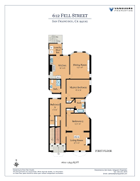 D D Floor Plans Floor Plans 612 616 Fell Street