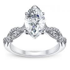 marquise cut diamond ring vintage marquise cut engagement rings ws