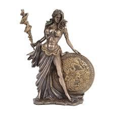 Bronze Home Decor Frigga Norse Goddess Bronze Statue By Derek W Frost Norse God Statue