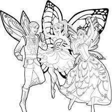 barbie mariposa dancing coloring pages bulk color