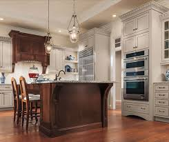 Kitchens With Maple Cabinets Painted Maple Cabinets And Cherry Kitchen Island Decora