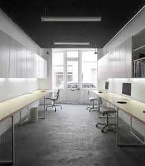 basic office interior design in paris minimalist interior