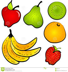 food clipart fruit pencil and in color food clipart fruit