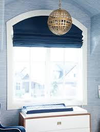 Pottery Barn Roman Shades Appealing Navy And White Roman Shades And Roman Shades Pottery