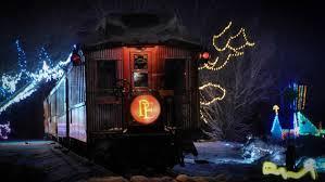 christmas lights train ride 6 magical polar express and christmas train rides travelpulse