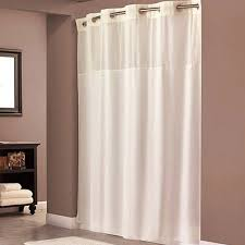 Polyester Shower Curtains Hookless Beige Polyester Shower Curtain Walmart