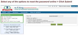 forgot income tax efiling password recover in 3 simple ways