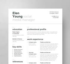 contemporary resume fonts styles swiss resume template cover letter reference page clean