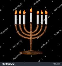 where can i buy hanukkah candles hanukkah candles all candle lite on stock illustration 129972548