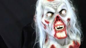 rotting death zombie latex halloween mask youtube
