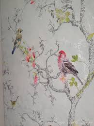 Wallpaper With Birds Workshop From Evija With Love
