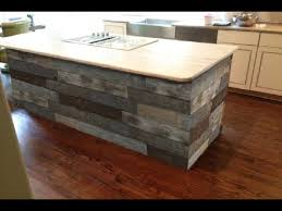 wood kitchen island gorgeous reclaimed wood kitchen islands ideas youtube