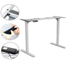 Electric Sit To Stand Desk New Style Yaekoo Electric Height Adjustable Sit Stand Desk Dual