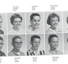 junior high school yearbooks rick nielsen cheap trick 1963 8th grade junior high school