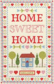 28 best home sweet home cross stitch kits images on