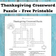 thanksgiving crossword printable thanksgiving word search puzzles