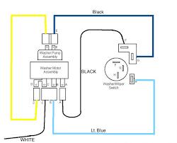electric 2 speed wiper motor diagram u002760s chevy c10 wiring