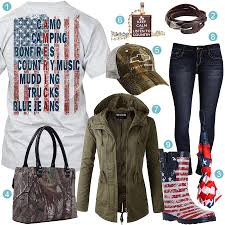 American Flag Jeans American Flag Rain Boots Real Country Ladies