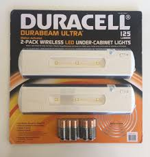 led under the cabinet lighting duracell led under cabinet light 2 pack amazon com