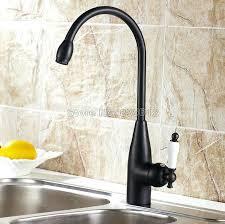 faucet kitchen sink bronze kitchen sink black rubbed swivel spout basin faucet