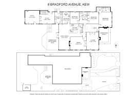 bradford floor plan 8 bradford avenue kew 3101 rt edgar