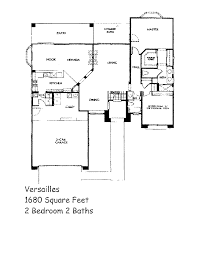 sun city floor plans